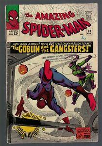MARVEL Comics FN-5.5 SPIDER-MAN  23 1965 AMAZING  3rd Green Goblin