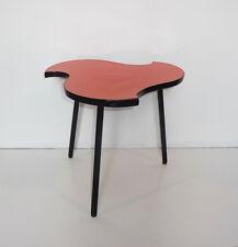 Table Basse fifties Formica Orange  des années 50's 60's  Vintage 1950
