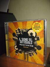 IL SUONO DEL SOTTOSUOLO 2 CD NUOVO SIGILLATO IL MEGLIO HIP HOP ITALIANO DJ FEDE