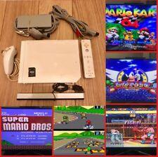 Modded Nintendo Wii With Over 6500 Retro Games (Sega Snes Nes Atari Plus More)
