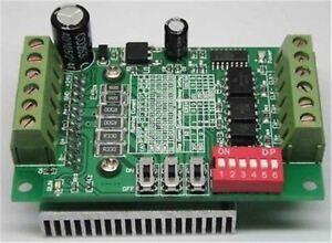 Cnc-Router Einzel 1-Achs-Controller Schrittmotortreiber TB6560 3A Neu Ic mv