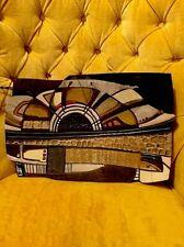 STUNNING Stovall Original Ceramic Art Plate Sunflower Ceterpiece Serving Tray Wo