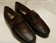 Nunn Bush Men's 9 W Bentley Loafer, Burgundy upper Business Casual Shoe