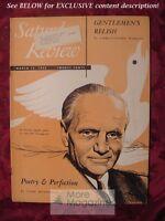 Saturday Review March 15 1952 NORMAN ANGELL JOHN MASEFIELD DOROTHY RICKARD