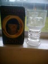 """2001 Lord Of The Rings """"Gandolf"""" Glass Goblets Collection"""