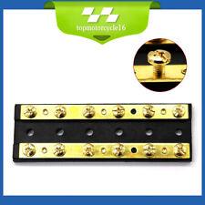 Sea-Dog 10 Gang Junction Block Brass 426671-1
