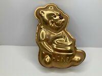 Winnie the Pooh Vintage Cake Pan 1978 #3005-203 Wilton Walt Disney Gold USED