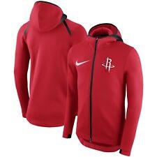 Nike Houston Rockets Therma Flex Hoodie Medium M [940130 657] $150 zip hoody NBA