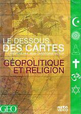 GÉOPOLITIQUE ET RELIGION - LE DESSOUS DES CARTES - JEAN CHRISTOPHE VICTOR