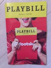 Tootsie Playbill Broadway 2019 run FREE SHIPPING