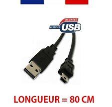 CAVO / ADATTATORE USB 2.0 UN MASCHIO PER MINI-B 5 PIN MASCHIO 80CM