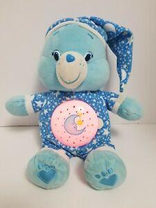 "Care Bears Magic Night Light Sweet Dreams Blue 2015 12"" Lullaby Music Plush"