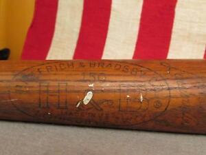 """Vintage Louisville Slugger Wood Baseball Bat Brooks Robinson Grand Slam 34"""" HOF"""