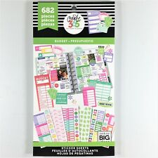 The Happy Planner Create 365 Budget Sticker Book Pack Of 682 Me & My Big Ideas