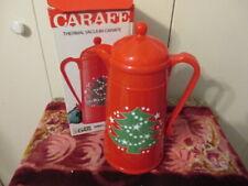 Waechtersbach Christmas Tree Coffee Thermal Vacuum Carafe A.K. Das W. GermanyNib