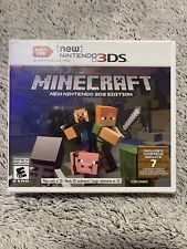 Minecraft New Nintendo 3DS Edition Video Game Brand New Sealed🔥