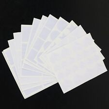 12pc French Nail Art Hollow Stencils Sticker Guide Tips Manicure Template Vinyls
