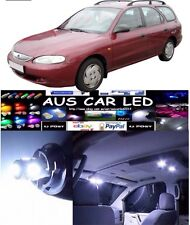 Hyundai Lantra Sports Wagon 97+ White LED Interior Light upgrade Kit (4pce)
