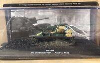 "DIE CAST TANK "" SU-76M 3RD UKRANIAN FRONT AUSTRIA - 1945 "" BLINDATI 058 1/72"