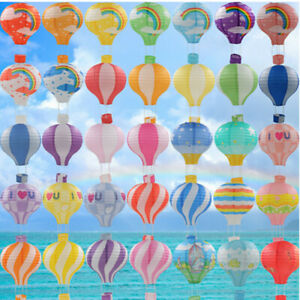Hot Air Balloon Paper Lanterns Ceiling Light Shade Lamp Wedding Party Decoration