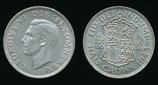 1943 George VI - Silver HALFCROWN (1/2 Crown)......Fast Post