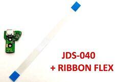 ✰ PS4 CONTROLLER JDS-040 FJDS-040 MICRO USB CHARGING PORT + RIBBON CABLE FLEX ✰