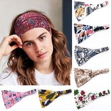 Yoga Elastic Headband Hair Band Wide Turban Sports Hairband Accessories Women