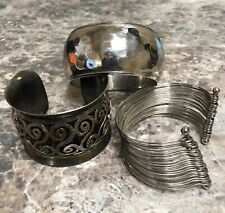 Mixed Lot of Three Metal Bracelets