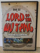 LORD OF THE WU TANG (DVD 2000) RARE JET LI MARTIAL ARTS ACTION MINT DISC