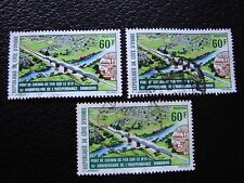 COTE D IVOIRE - timbre yvert/tellier n° 394 x3 obl (A27) stamp (U)