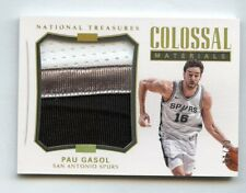 Pau Gasol 2017 National Treasures Colossal Materials Patch #/25