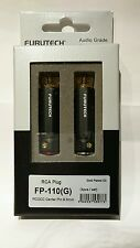 Furutech RCA Connector FP-110 (G) Gold Plated 4 pcs Audio Plug Japan Fast Ship
