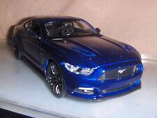 Toy Maisto Diecast 1:24 Blue 2015 Mustang  NHRA car Hot Rod