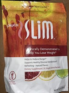 Plexus Slim Hunger Control ~ 30 Packets ~ Supports Glucose Metabolism NEW