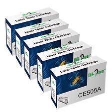 5 NonOEM 5Toner for HP CE505A 05A Laserjet P2050 P2055 P2055D P2055DN