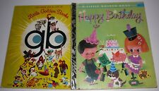 How to have a Happy Birthday Little Golden Book 302 HC 1974 Sydney