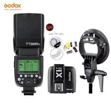 Godox TT685S 2.4G HSS TTL Camera Flash+X1T-S Trigger for Sony+ Bowens Bracket