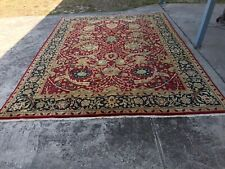 9x12 Oriental hand knotted wool Indian Rug  hand made