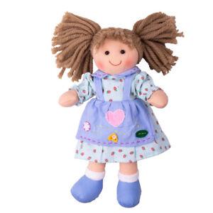 Bigjigs Toys Grace Doll - SMALL Ragdoll Cuddly Toy