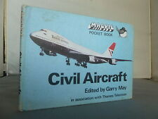 Civil Aircraft - Magpie Pocket Book HB Illustrated 1975 - TV Show