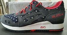 BAIT ASICS Gel-Lyte III BASICS Nipon Blues US10.5, UK 9.5 EUR 43.5 BNWT & Box