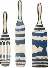 Mad Hungry Pakka Wood 3-Piece Spurtle Kitchen Utensil Set Cooking Spoons K48585