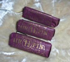 3 CHARMING UNUSED PAPER PACKS VICTORIAN/EDWARDIAN HAIR PINS ORIGINAL WRAPS