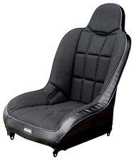 OFF-ROAD SUSPENSION SEAT, Black Vinyl With Black Fabric, Dunebuggy & VW
