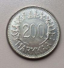1956 Finland 200 Maarka Coin