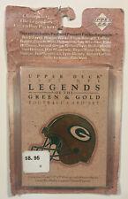 1997 UpperDeck NFL Legends Green Bay Packers Factory Sealed Box Set