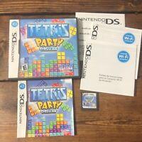 Tetris Party Deluxe (Nintendo DS, 2010)-Complete