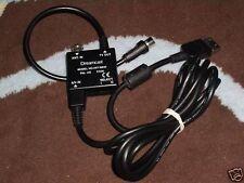 SEGA DREAMCAST DC Oficial RF TV Antena Switch & Cable Adaptador AV Plomo Genuino