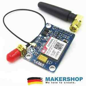 SIM800L V2.0 Quad Band GSM GPRS Modul Antenne Adapter Arduino Raspberry Pi