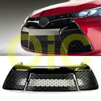 For 2015-2017 Toyota Camry SE/XSE Glossy Black Sport Front Lower Bumper Grille